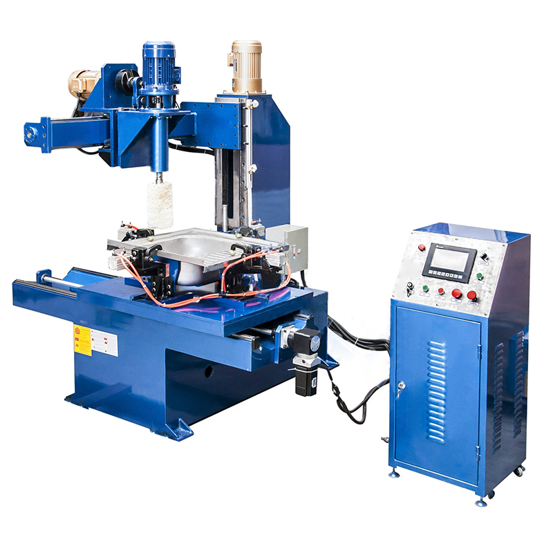 GIM-50KVA Sink Side Wall Polishing Machine Used for polishing the sink inner wall automatically